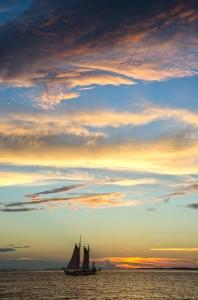 Mirar una puesta de Sol