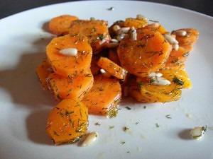 adelgazar sin dietas zanahorias al eneldo