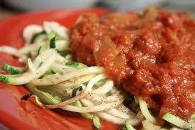 espaguettis de calabacin para adelgazar disfrutando
