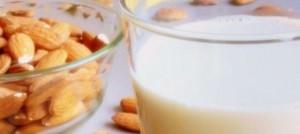 leche de almendras para adelgazar