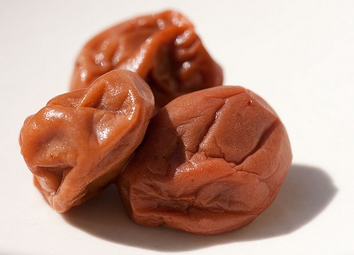 umeboshi para eliminar toxinas