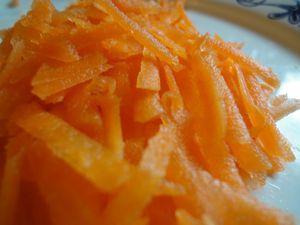 Zanahoria para adelgazar