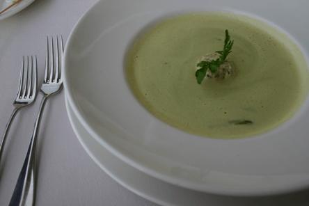 crema de avena con verduras para adelgazar