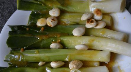 puerros al vapor con vinagreta de agave adelgazantes 2
