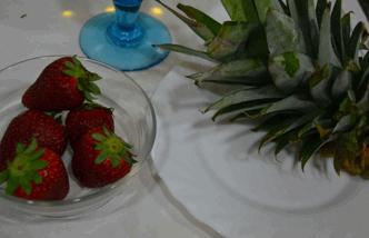 almuerzo fresas