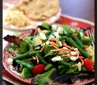 ensalada de judias verdes para adelgazar