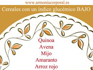 cereales indice glucemico bajo