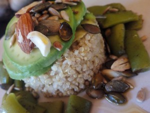 Quinoa con judías verdes para adelgazar