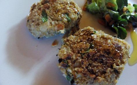 hamburguesas de quinoa y shiitakes1