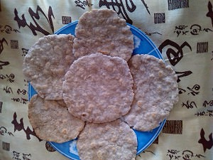 Tortitas de avena y trigo sarraceno  listas para comer