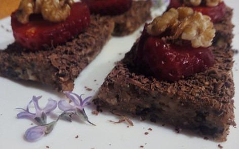 brownies crudiveganos para adelgazar disfrutando1