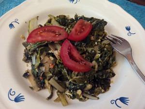 acelgas rehogadas combinando bien los alimentos para adelgazar (1)