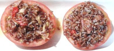 tomates rellenos con arroz rojo1