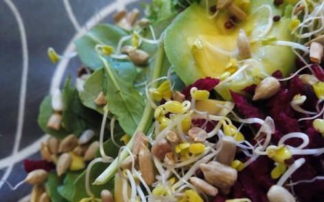 Ensalada de brócoli germinado anticáncer