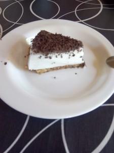 pastel de flan de coco
