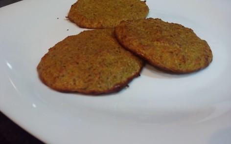 tortitas de harina de coco