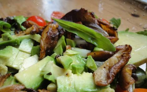 ensalada tibia con shiitakes (4)