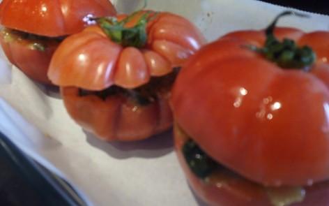 tomates rellenos de espinacas para adelgazar (3)