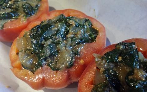 tomates rellenos de espinacas para adelgazar (4)