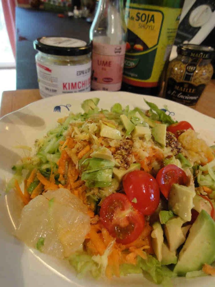 ensalada con fermentados y super aliño de mostaza (2)