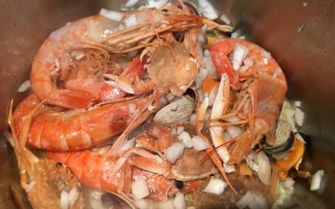 sopa de marisco adelgazar armonia corporal