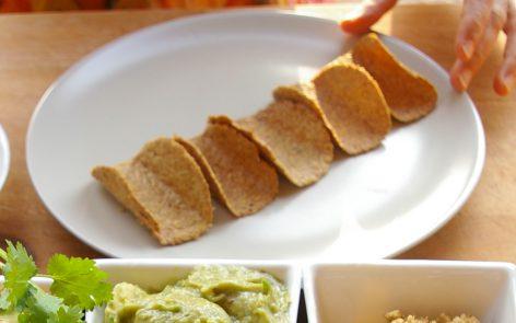 tacos sin gluten y sin harinas