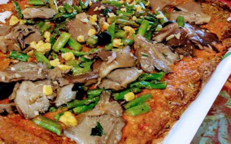 Masa de pizza de zanahoria sin gluten, ni harinas